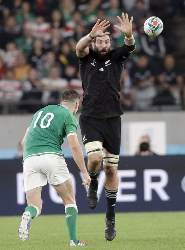 Sam Whitelock says New Zealand are relishing the challenge of reaching greater heights (Mark Baker/AP)