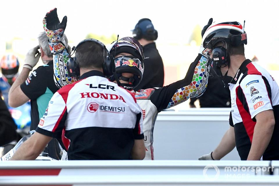 "Ganador de la pole Takaaki Nakagami, Team LCR Honda<span class=""copyright"">Gold and Goose / Motorsport Images</span>"