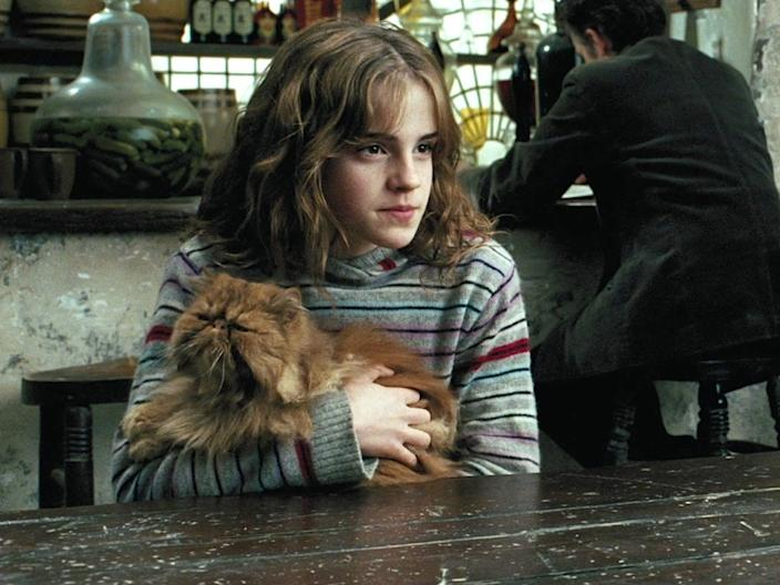 "Emma Watson in ""Harry Potter and the Prisoner of Azkaban."""