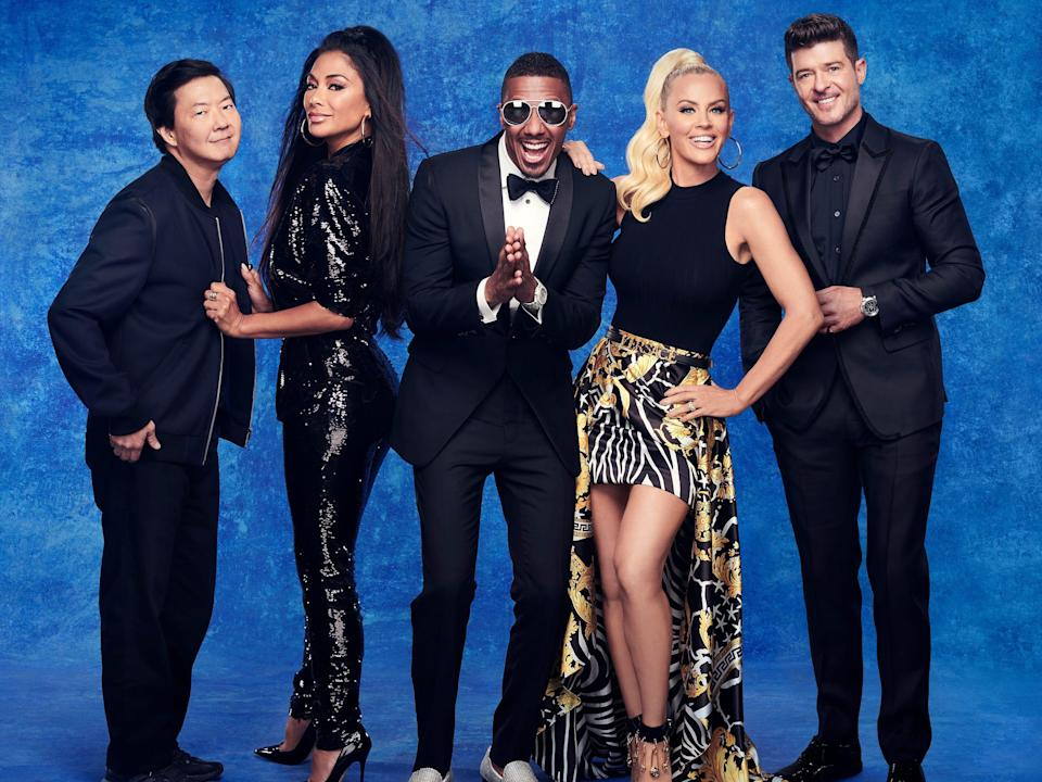 the masked singer panelists and hosts