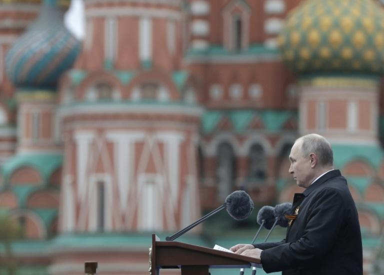Russian President Vladimir Putin's two decades in power have seen the WWII Victory Day holiday take on increasing importance