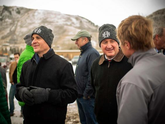 Kirk and Jim Hansen were killed in the crash, along with several other family members (Bradly J Boner/Jackson Hole News & Guide via AP)