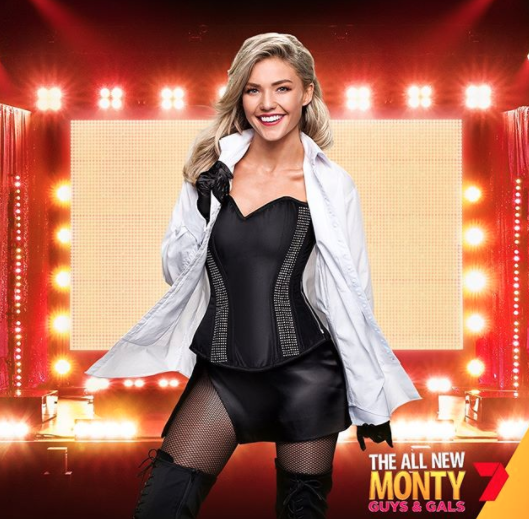 Sam Frost All New Monty strip tease 'terrifying'