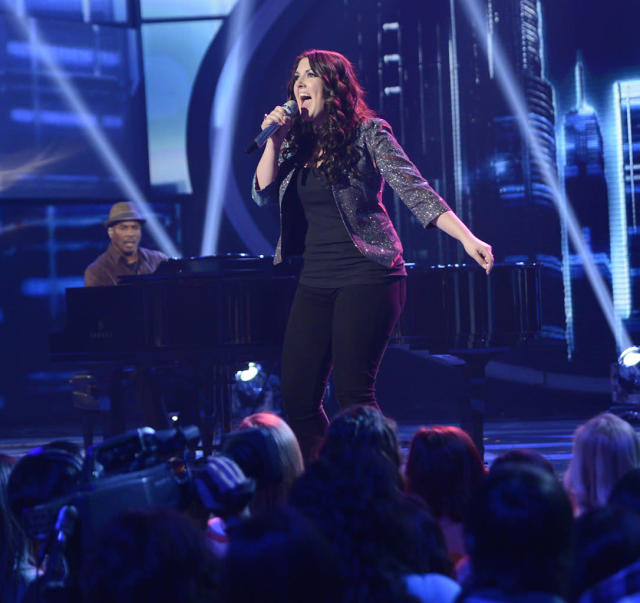 "Kree Harrison performs Ben E. King's ""Don't Play That Song (You Lied)"" on the Wednesday, March 27 episode of ""American Idol."""