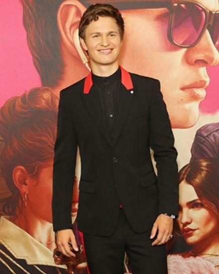 It was Ansel Elgort's first visit to Australia. Source: Getty