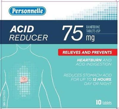 Reducer (ranitidine) sold under the brand name Personnelle (CNW Group/Health Canada)