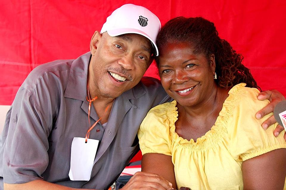 """Vaughn Harper (pictured left) was a famous DJ on New York's WBLS, host of the long-running radio show """"Quiet Storm."""" He died July 9 from complications of diabetes. He was 70. (Photo: Getty)"""