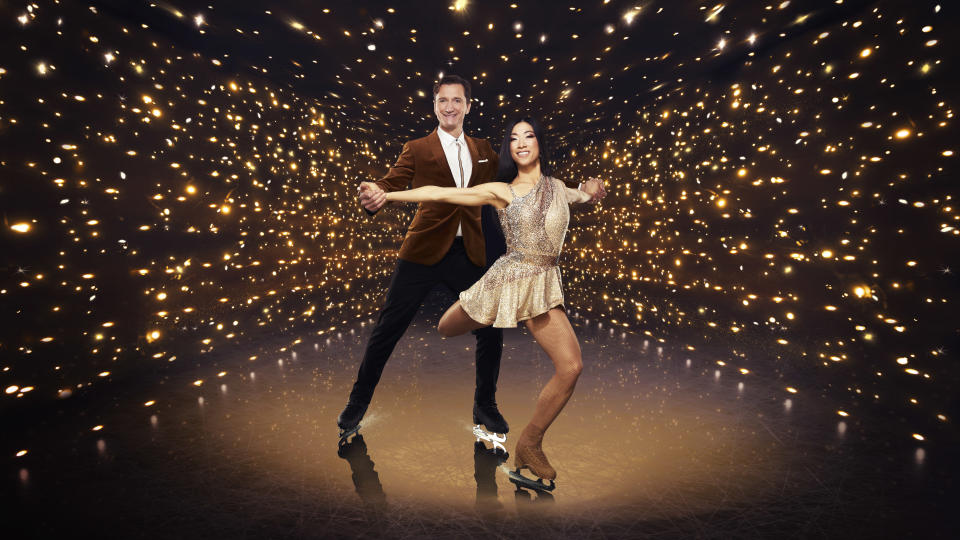 Olympian Graham Bell's 'Dancing On Ice' partner Yebin Mok has been severely injured in rehearsals. (ITV)