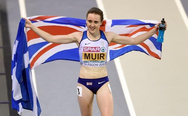 Laura Muir has been struggling with injury (Ian Rutherford/PA)
