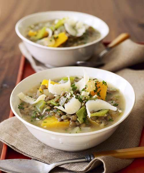 """<p>This sweet yet savory stew is the perfect slow-cooker recipe to warm up the family on a chilly day.</p><p><a href=""""https://www.goodhousekeeping.com/food-recipes/a8101/lentil-stew-butternut-squash-recipes/"""" rel=""""nofollow noopener"""" target=""""_blank"""" data-ylk=""""slk:Get the recipe for Lentil Stew with Butternut Squash »"""" class=""""link rapid-noclick-resp""""><em>Get the recipe for Lentil Stew with Butternut Squash »</em></a></p>"""