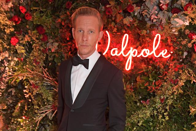 Laurence Fox attends the Walpole British Luxury Awards 2019 at The Dorchester on November 18, 2019 in London, England. (Photo by David M. Benett/Dave Benett/Getty Images for Walpole)