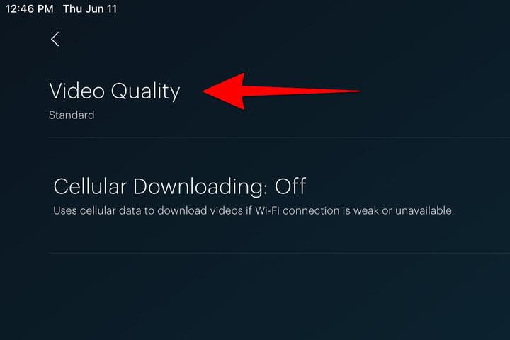 Hulu Download video Quality