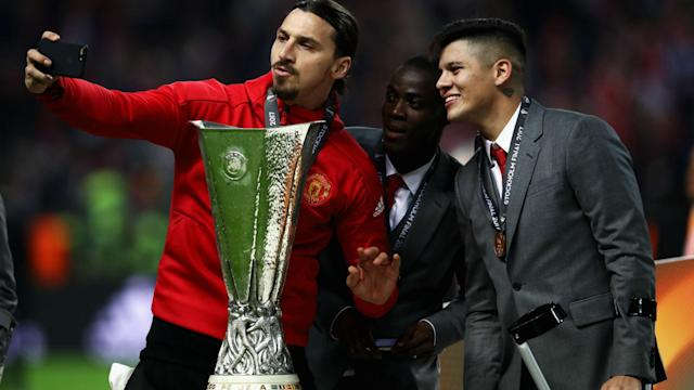 Zlatan Ibrahimovic is itching to get back on the pitch with Manchester United after a serious knee injury, but Jose Mourinho wants patience.