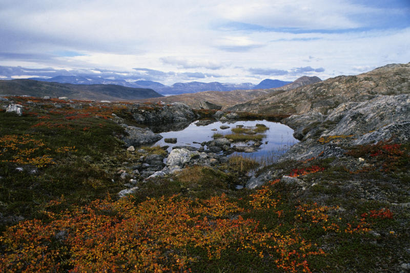 Saglek Fjord in northern Labrador, Canada. Scientistssaid they'd found what could be the oldest traces of life on Earth in rocks found in the northern Labrador region. (Wolfgang Kaehler/Getty Images)