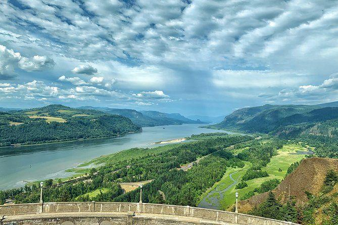 "<p><strong><a href=""https://www.viator.com/tours/Portland/Portland-Day-Trip-Multnomah-Falls-and-Columbia-River-Gorge-Waterfalls-Tour/d5065-5765P9"" rel=""nofollow noopener"" target=""_blank"" data-ylk=""slk:Morning Half-Day Multnomah Falls and Columbia River Gorge Waterfalls Tour from Portland"" class=""link rapid-noclick-resp"">Morning Half-Day Multnomah Falls and Columbia River Gorge Waterfalls Tour from Portland</a></strong></p><p><strong>Portland, Oregon</strong></p><p>Get a dose of nature with Oregon's most popular attraction. You get a guided tour of Multnomah Falls and the Columbia River Gorge Waterfalls. There's a drive down historic Columbia River Highway National Scenic Byway and plenty of waterfall photo opportunities as well. </p>"