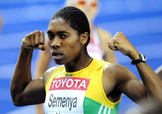 Caster Semenya announced her arrival on the world stage in Berlin in 2009 at the age of 18 (John Giles/PA).