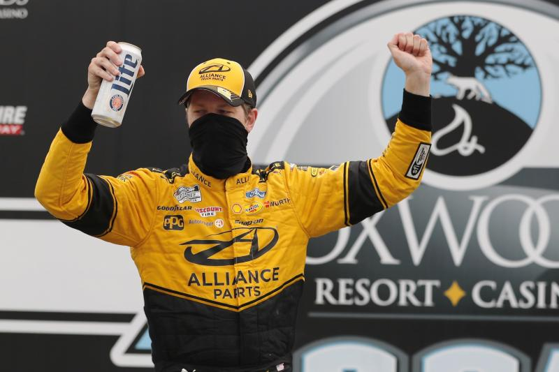 Keselowski lands extension with Penske after 3rd victory