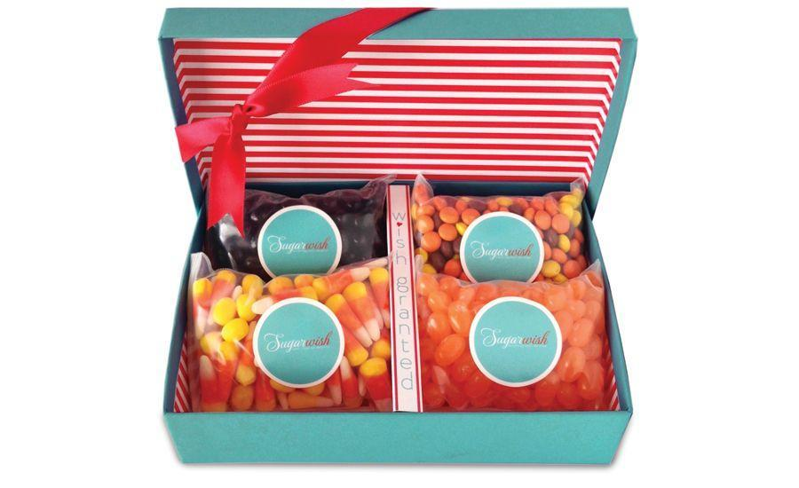 """<p>Want to send Teach a sweet treat, but don't know their favorite type of candy? Send a Sugar Wish, and they'll be able to pick out her four favorite flavors herself. You can send candy, popcorn or cookies.</p><p><a class=""""link rapid-noclick-resp"""" href=""""https://go.redirectingat.com?id=74968X1596630&url=https%3A%2F%2Fsugarwish.com%2F&sref=https%3A%2F%2Fwww.goodhousekeeping.com%2Fholidays%2Fgift-ideas%2Fg1432%2Fteacher-gifts%2F"""" rel=""""nofollow noopener"""" target=""""_blank"""" data-ylk=""""slk:SHOP NOW"""">SHOP NOW</a></p>"""