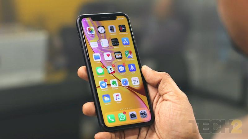 Apple iPhone XR. Image: tech2/Omkar Patne