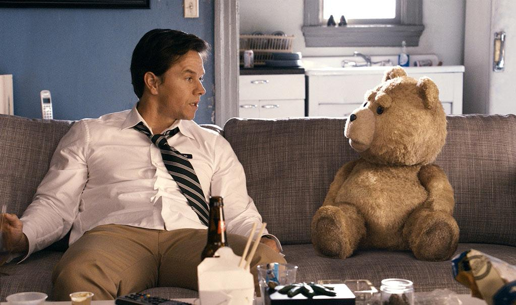 "<p class=""MsoNormal"">Ted (the talking bear), <a target=""_blank"" href=""http://movies.yahoo.com/movie/ted-2012/"">""Ted""</a><br><br>Every summer needs a fun and filthy, R-rated comedy that leaves you gasping for air due to intense laughter … and possibly due to shocking vulgarity, a gut-buster like ""Bridesmaids,"" ""American Pie,"" or ""The Hangover."" But while those flicks feature ""SNL"" vets, horny teenagers, and Zach Galifiankis, ""Ted"" stars a talking bear. Yep, you read that correctly, a stuffed animal with a working mouth (and a foul one at that!). But Ted (voiced by writer/director and ""Family Guy"" creator Seth MacFarlane) is no Teddy Ruxpin; he's a sex-obsessed, binge-drinking slacker, who not only drives his BFF insane, he also happens to steal the movie from his non-computer-animated co-stars, Mark Wahlberg and Mila Kunis.</p>"