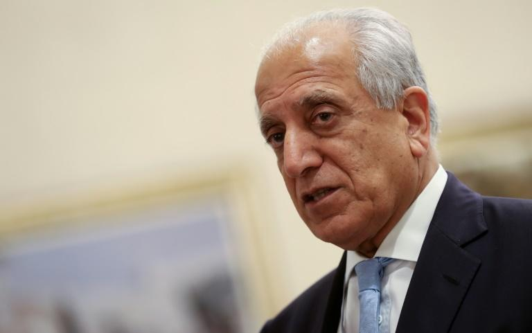 US negotiator Zalmay Khalilzad, seen here in July 2019, is consulting European, Russian and Chinese counterparts on ways to end Afghanistan's war