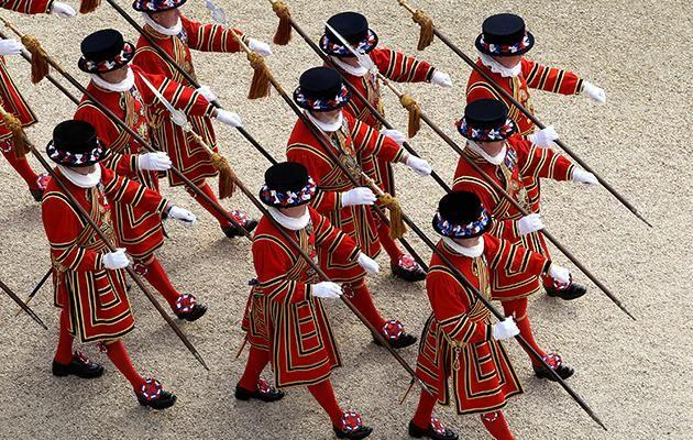 The Queen's Guard are the main body charged with guarding the Queen's residences, including Buckingham Palace and Sandringham Estate. Photo: Getty Images