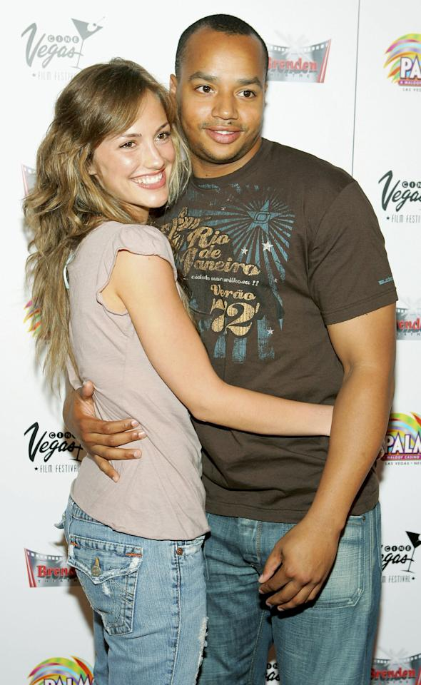 <p>She moved on to <strong>Scrubs</strong> star Donald Faison in 2004, and the two dated for a year.</p>