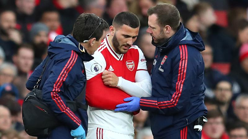 Arsenal confirm 'significant shoulder injury' for Kolasinac