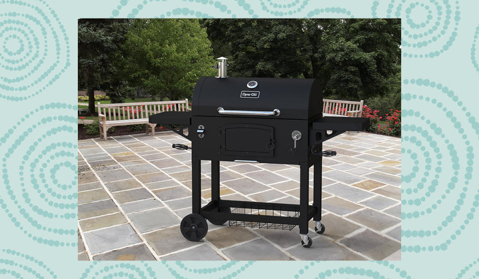 This massive grill is the perfect size for all the burgers and steaks you've been dreaming of since last year. (Photo: Walmart)