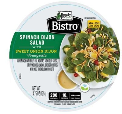 Top Label on Affected Salads
