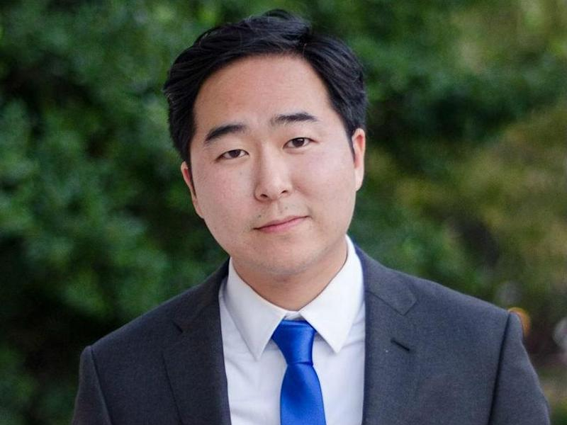 Andy Kim is challenging Representative Tom McArthur for his House seat in New Jersey: Facebook/Andy Kim