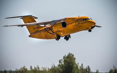A 2017 photo of the Saratov Airlines plane that crashed - Credit: Marina Lystseva/AFP/Getty Images