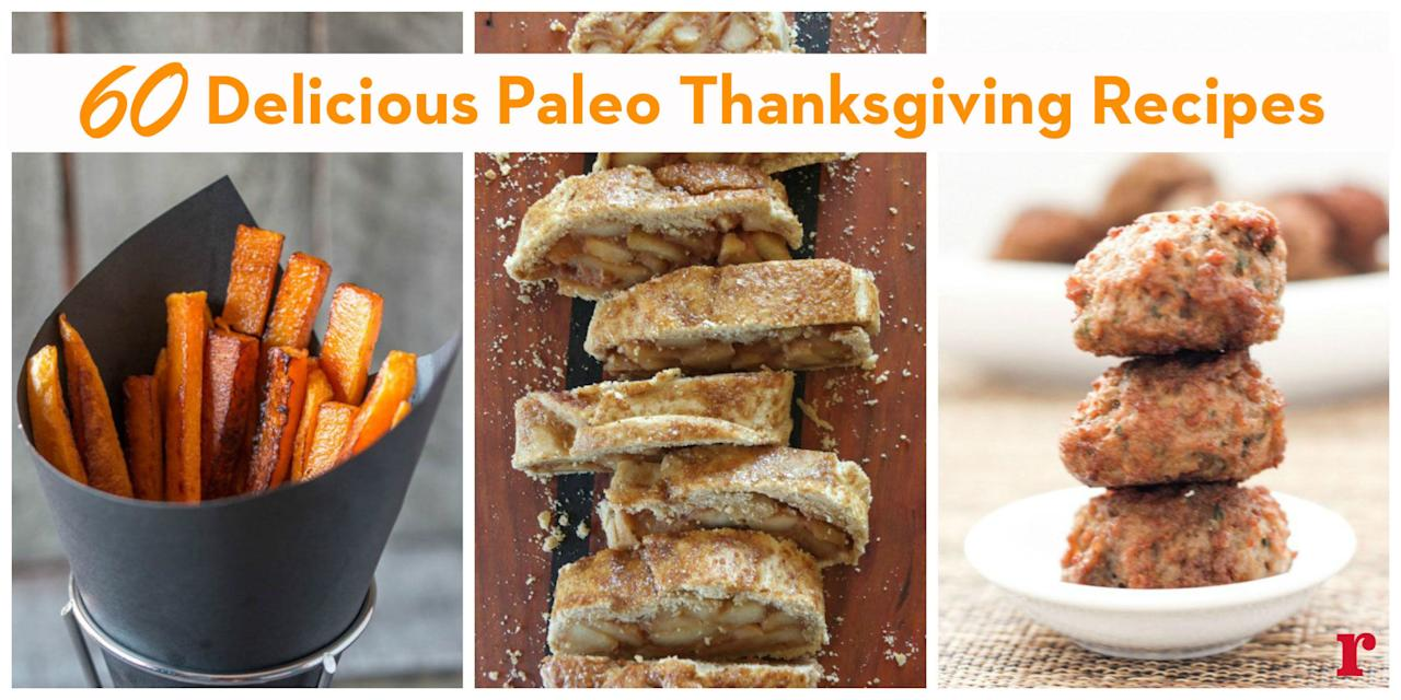 <p>Sticking to the caveman diet doesn't have to be tricky during the holidays. From turkey to pie time, we've got all the bases covered. </p>