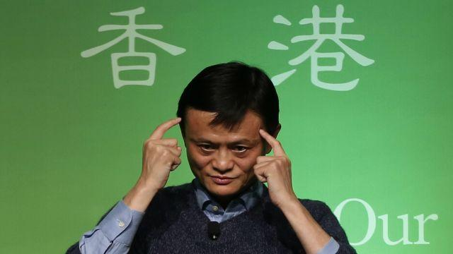 Jack Ma is spending billions to win the globe's online shoppers.