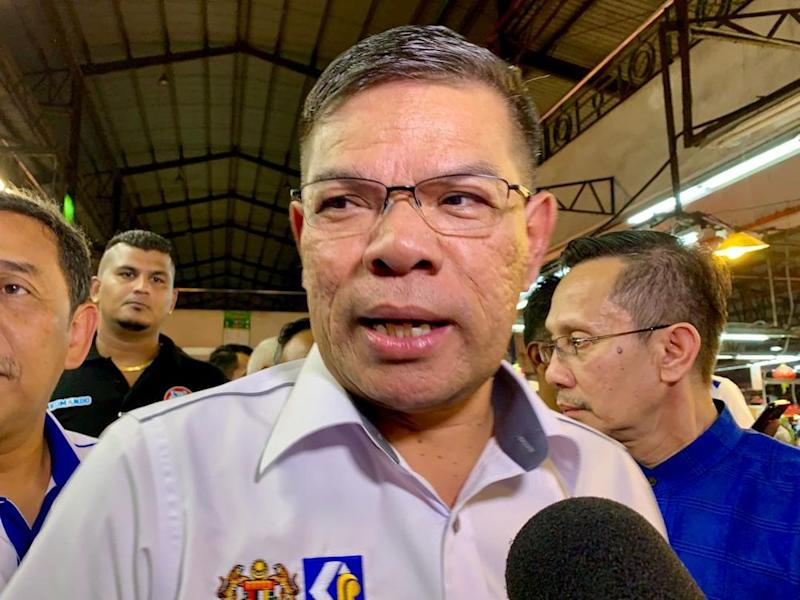 PKR secretary-general Datuk Seri Saifuddin Nasution Ismail said he was unfazed by the current spat involving the party's president and deputy president, describing the situation as normal. — Picture by Ben Tan