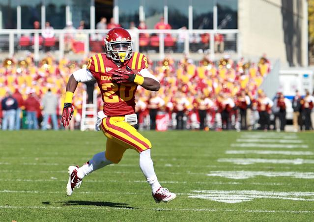 Iowa State running back gets cited for noise violation 15 minutes after being warned