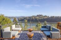 """<p><strong>Bedrooms:</strong> 3<br> <strong>Bathrooms:</strong> 2<br> <strong>Minimum stay:</strong> 1 night </p> <p>Why choose between a <a href=""""https://www.cntraveler.com/gallery/beautiful-lake-houses-you-can-rent-on-airbnb?mbid=synd_yahoo_rss"""" rel=""""nofollow noopener"""" target=""""_blank"""" data-ylk=""""slk:lake vacation"""" class=""""link rapid-noclick-resp"""">lake vacation</a> and a beach vacation when you can have both? This Oregon vacation rental directly overlooks Tenmile Lake, and is a 10-minute drive from Winchester Bay and all its beach activities. The newly renovated home has a beautiful deck, complete with a grill, lounge area, and outdoor dining area; inside, you'll find your very own coffee bar. </p> $404, VRBO. <a href=""""https://www.vrbo.com/1787788"""" rel=""""nofollow noopener"""" target=""""_blank"""" data-ylk=""""slk:Get it now!"""" class=""""link rapid-noclick-resp"""">Get it now!</a>"""