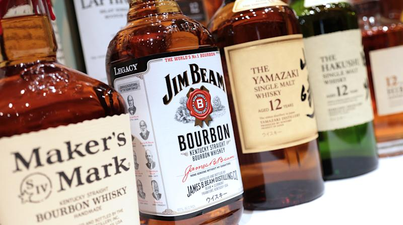 People Are Boycotting Jim Beam Because Of Something Mila Kunis Said