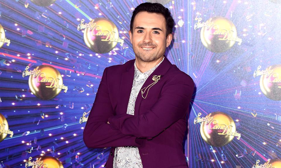 Will Bayley attending the Strictly Come Dancing Launch at the TV Centre, London