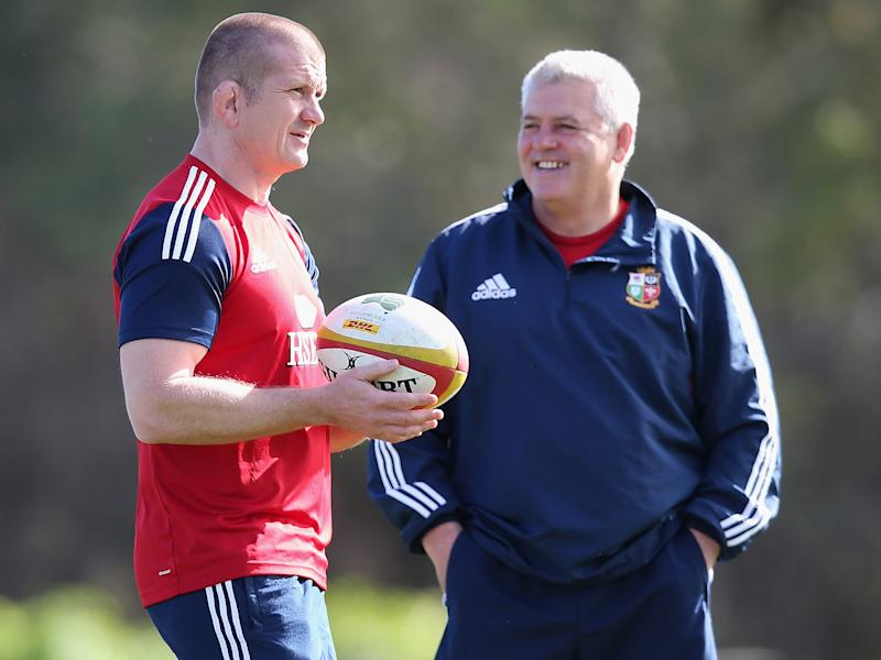 Rowntree was one of Gatland's three assistants on the 2013 tour: Getty