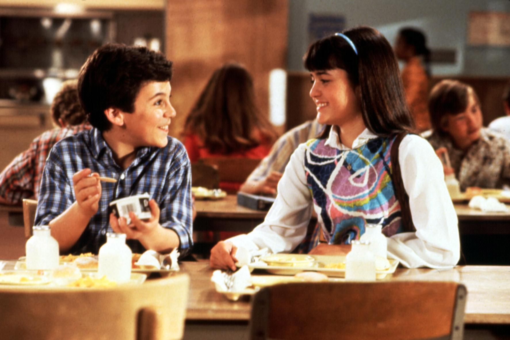 """Fred Savage and Danica McKellar co-starred in """"The Wonder Years."""" (Photo: Everett Collection)"""