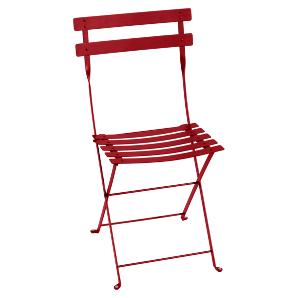 """<p><strong>fermob</strong></p><p>fermob.com</p><p><a href=""""https://www.fermob.com/en/Products/Furniture/Chairs-stools-benches/Chairs-dining-armchairs/Chair-Bistro"""" rel=""""nofollow noopener"""" target=""""_blank"""" data-ylk=""""slk:Shop Now"""" class=""""link rapid-noclick-resp"""">Shop Now</a></p><p>Fermob's folding, metal take on the bistro chair is ubiquitous in the gardens of Paris—and for good reason. Created in time with the Eiffel Tower, it's a symbol of the city and enduring French design. Today, it's offered in a rainbow of colors. </p>"""