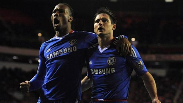 <p>Although Frank Lampard and Didier Drogba were not a forward partnership so to speak, Lampard's role as a box-to-box midfielder saw him link up with the Ivory Coast forward on numerous occasions and the pair hit 51 goals between them as Carlo Anchelotti's side scored their way to the title. </p> <br><p>Drogba frequently benefitted from Lampard's assists, as did the Englishman from the former Marseille man's knock downs, and went on to score 29 times from just 32 appearances. </p> <br><p>Lampard's 22 goals from midfield was a feat of its own and the club set a record for their 103 goals scored across the season. </p>