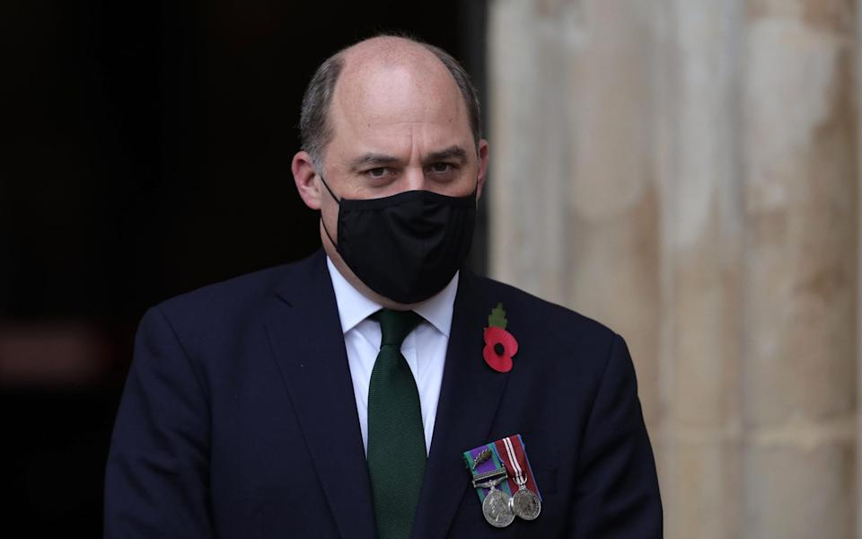 Defence Secretary Ben Wallace - AARON CHOWN/POOL/AFP via Getty Images