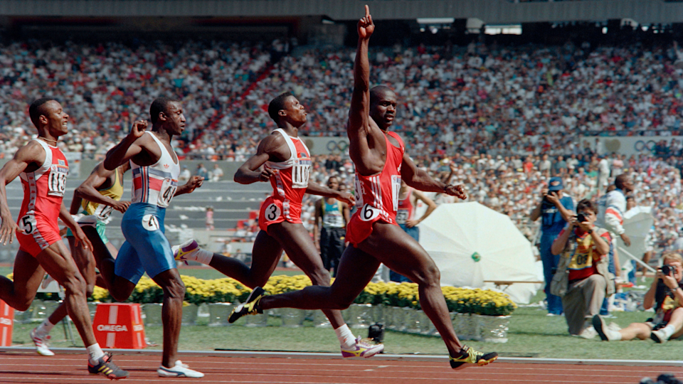 For a moment, Ben Johnson was Canada's national hero before a positive test for steroids ruined his image, and he never recovered. (ROMEO GACAD / AFP)