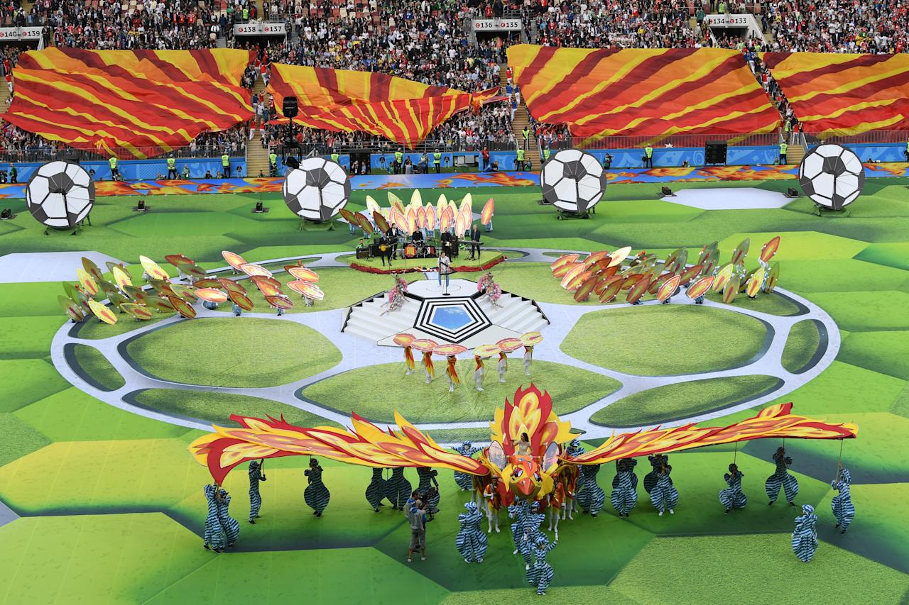 <p>World Cup opening ceremony (Getty Images) </p>