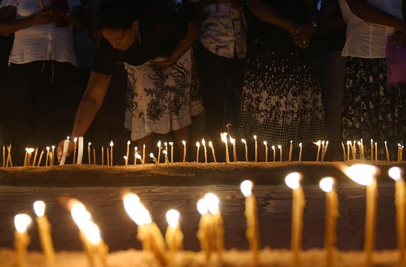 Sri Lanka struggled to contain the spread of fake news and disinformation in the wake of the Easter attacks (AFP Photo/LAKRUWAN WANNIARACHCHI)