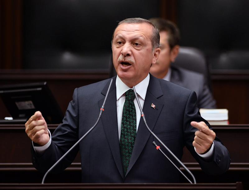 Turkish PM lashes out at protesters