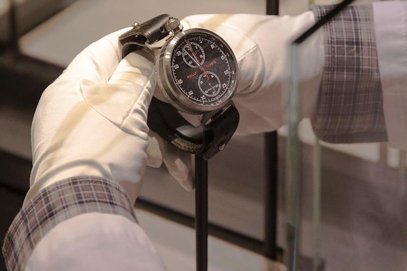 Watchmakers say they are going back to basics to attract new buyers (AFP Photo/OLIVIER VOGELSANG)