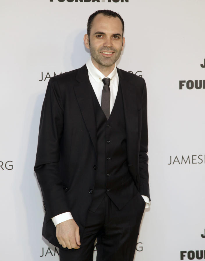 Restauranteur Dominique Ansel attends the 2014 James Beard Foundation Awards on Monday, May 5, 2014, in New York. (Photo by Andy Kropa/Invision/AP)